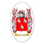 Carnes Sticker (Oval)