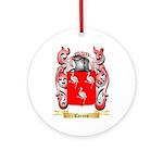 Carnes Ornament (Round)