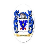 Carnegie Oval Car Magnet