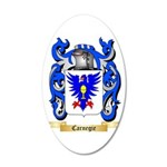 Carnegie 20x12 Oval Wall Decal