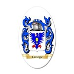 Carnegie 35x21 Oval Wall Decal