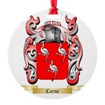 Carne Round Ornament
