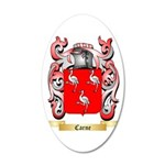 Carne 35x21 Oval Wall Decal