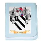 Carnall baby blanket