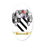 Carnall Oval Car Magnet
