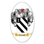 Carnall Sticker (Oval 10 pk)