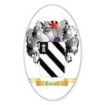 Carnall Sticker (Oval 50 pk)
