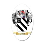 Carnall 20x12 Oval Wall Decal