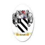 Carnall 35x21 Oval Wall Decal
