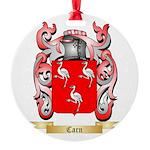 Carn Round Ornament