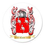 Carn Round Car Magnet