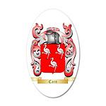 Carn 35x21 Oval Wall Decal