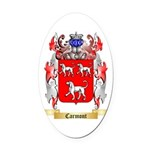 Carmont Oval Car Magnet