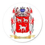 Carmont Round Car Magnet