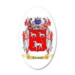 Carmont 20x12 Oval Wall Decal