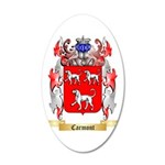 Carmont 35x21 Oval Wall Decal
