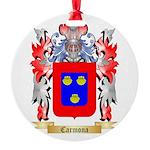 Carmona Round Ornament