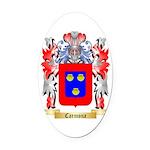 Carmona Oval Car Magnet