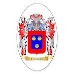 Carmona Sticker (Oval 50 pk)