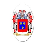Carmona 35x21 Oval Wall Decal