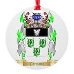 Carmona 2 Round Ornament