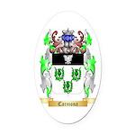Carmona 2 Oval Car Magnet