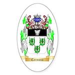 Carmona 2 Sticker (Oval 50 pk)