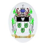 Carmona 2 Ornament (Oval)