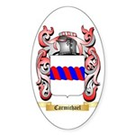 Carmichael Sticker (Oval)