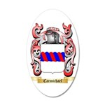 Carmichael 35x21 Oval Wall Decal