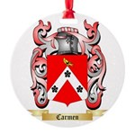 Carmen Round Ornament