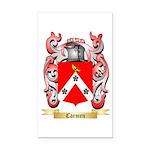 Carmen Rectangle Car Magnet