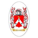 Carmen Sticker (Oval 50 pk)