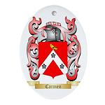Carmen Ornament (Oval)