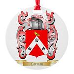 Carman Round Ornament