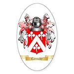 Carmady Sticker (Oval 50 pk)