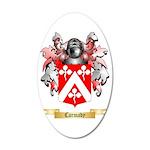 Carmady 35x21 Oval Wall Decal