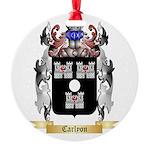 Carlyon Round Ornament