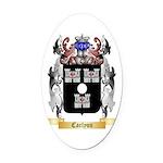 Carlyon Oval Car Magnet