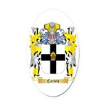 Carlyle Oval Car Magnet