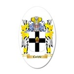 Carlyle 20x12 Oval Wall Decal
