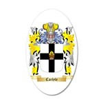 Carlyle 35x21 Oval Wall Decal