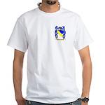 Carluccio White T-Shirt