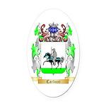 Carlucci Oval Car Magnet