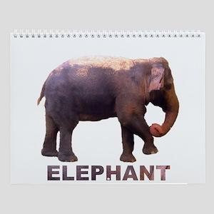 elephant4 Wall Calendar