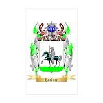 Carlucci Sticker (Rectangle 50 pk)
