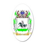 Carlucci 20x12 Oval Wall Decal
