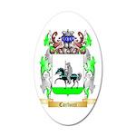 Carlucci 35x21 Oval Wall Decal