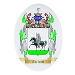 Carlucci Ornament (Oval)