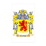 Carlton Sticker (Rectangle 50 pk)